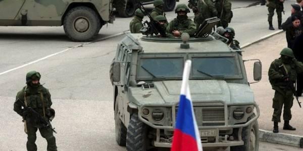 Crimea: Russia sul piede di guerra